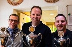 Alle 3 Pokalsieger der Wintersaison