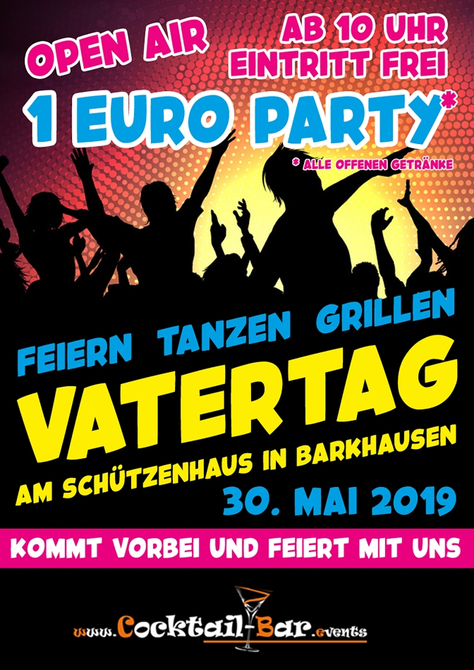Vatertags-Party