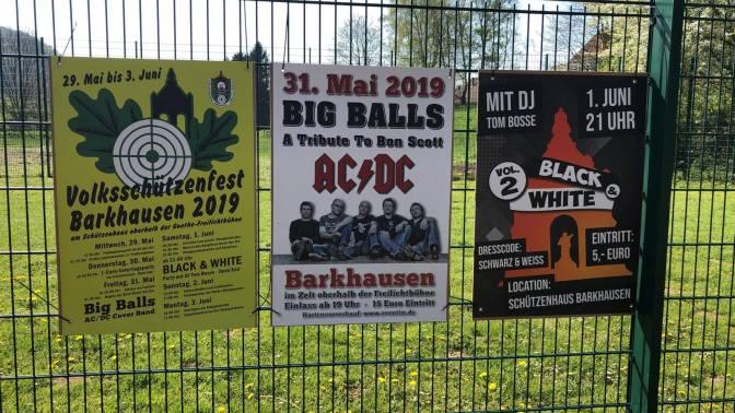 Terminplan Schützenfest 2019